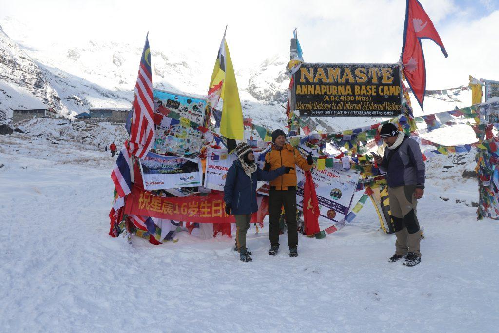 annapurna base camp trek in december