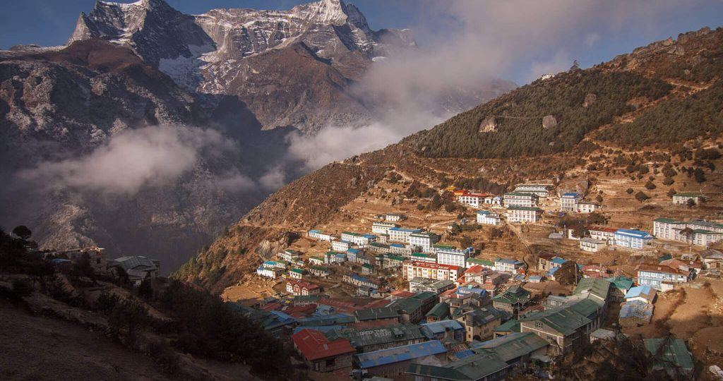 Namche Bazaar to Everest Gokyo Trek