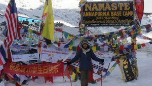 annapurna base camp trek route