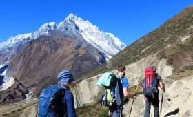 Manaslu trek difficulty